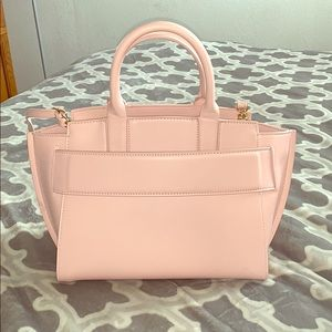 Baby pink tote purse 👜